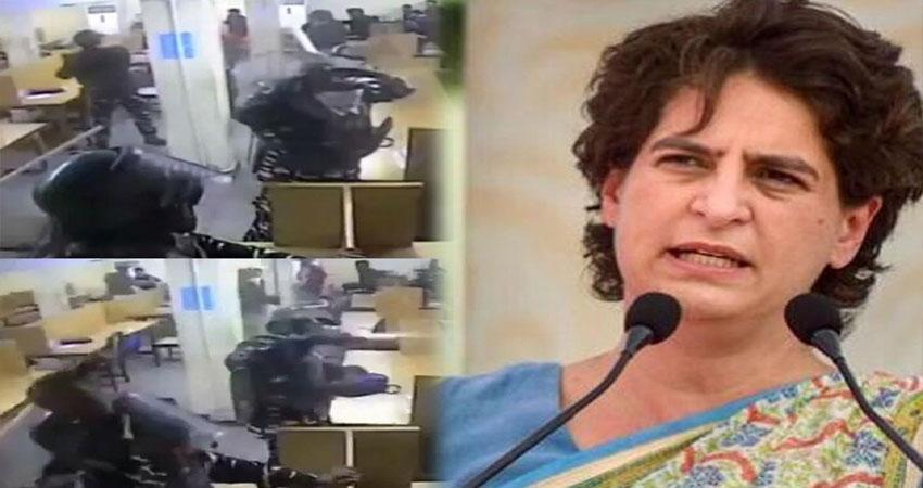 जामिया के नई Video पर प्रियंका गांधी का आरोप- झूठ बोल रही थी सरकार