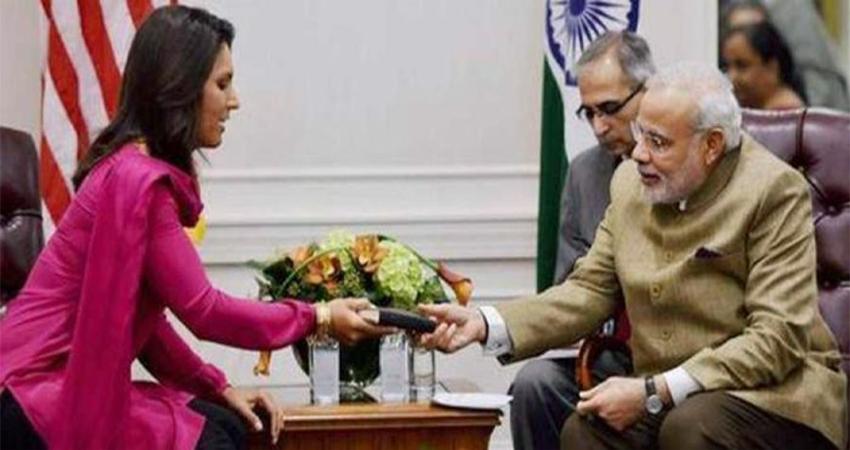 तुलसी गबार्ड ने ''हाउडी मोदी'' कार्यक्रम का निमंत्रण ठुकराया, कहा- न्यूयॉर्क में करूंगी मुलाकात