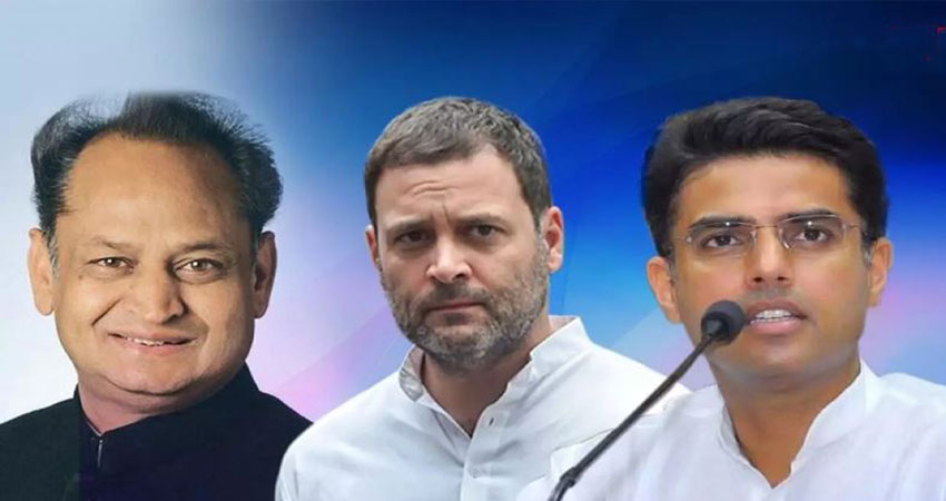 तीसरी बार राजस्थान के CM बने गहलोत, सचिन पायलट ने ली उप-मुख्यमंत्री पद की शपथ