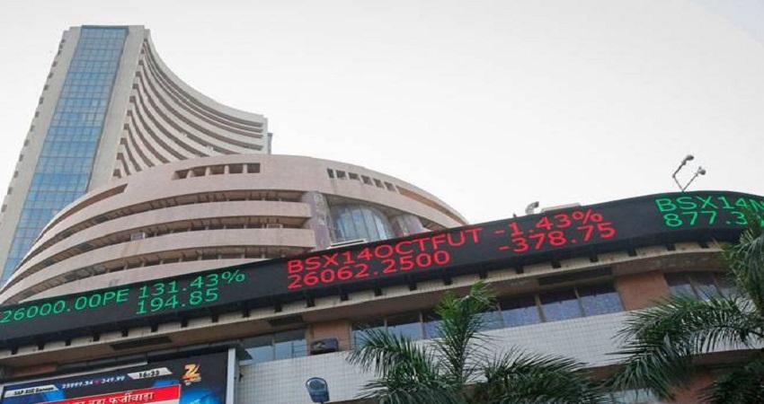 शेयर बाजार में उतार- चढ़ाव: सेंसेक्स 34000 और निफ्टी 10000 के पार