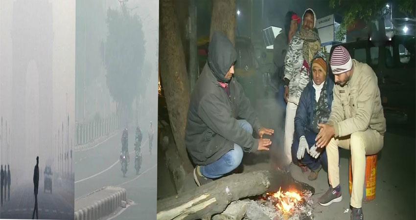 शीत लहर की चपेट में दिल्ली, वर्षों का रिकॉर्ड तोड़ 1.7 डिग्री पहुंचा पारा