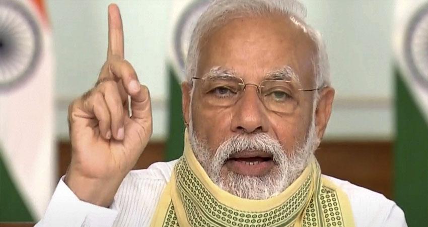 PM मोदी की 10 राज्यों के मुख्यमंत्रियों संग वर्चुअल बैठक जारी, कोरोना के हालात पर ले रहे जायजा