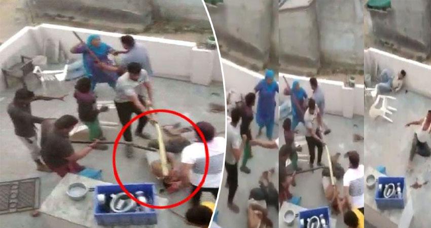क्रिकेट को लेकर बढ़ा विवाद, दबंगों ने खेली खून की होली, देखिए हैरान करने वाला Video