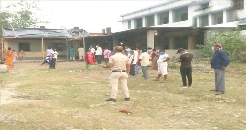प बंगाल विधानसभा चुनाव : कोरोना हाहाकार के बीच 7वें चरण की वोटिंग