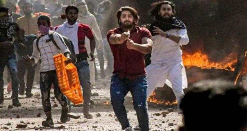 दिल्ली हिंसाः दंगे के दौरान गोली चलाने वाला अपराधी शाहरुख UP से गिरफ्तार