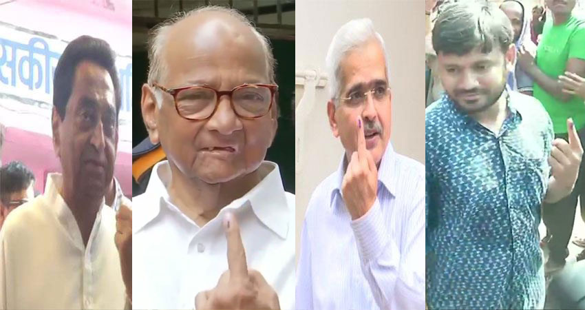 #PHASE4 LIVE : चौथे चरण के चुनाव में इन नेताओं और सेलिब्रिटीज ने किया मतदान