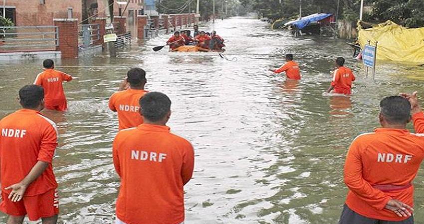 महाराष्ट्र में तेज बारिश, सिंधुदुर्ग, रत्नागिरी, पालघर और रायगढ़ जिलों में भेजी गई NDRF की टीमें