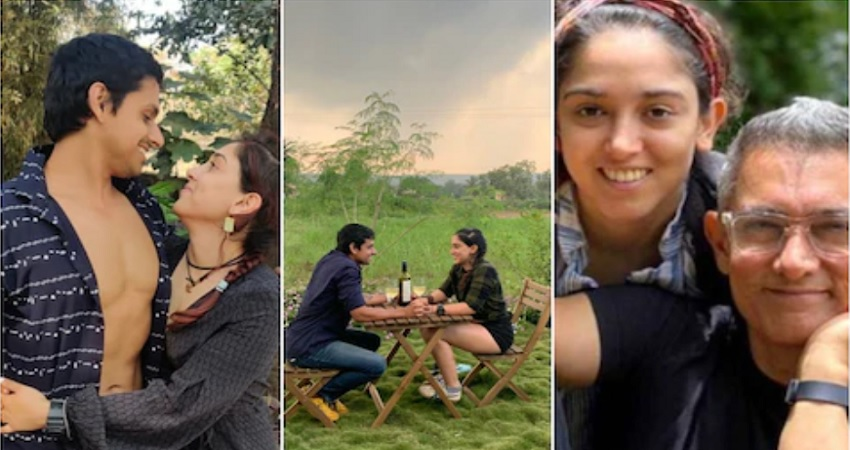 पापा के फिटनेस ट्रेनर को डेट कर रहीं आमिर की बेटी इरा खान, रोमांटिक Pics की शेयर