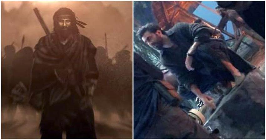 फिल्म 'शमशेरा' से सामने आया Ranbir Kapoor का फर्स्ट लुक, पहचान नहीं पाएंगें आप