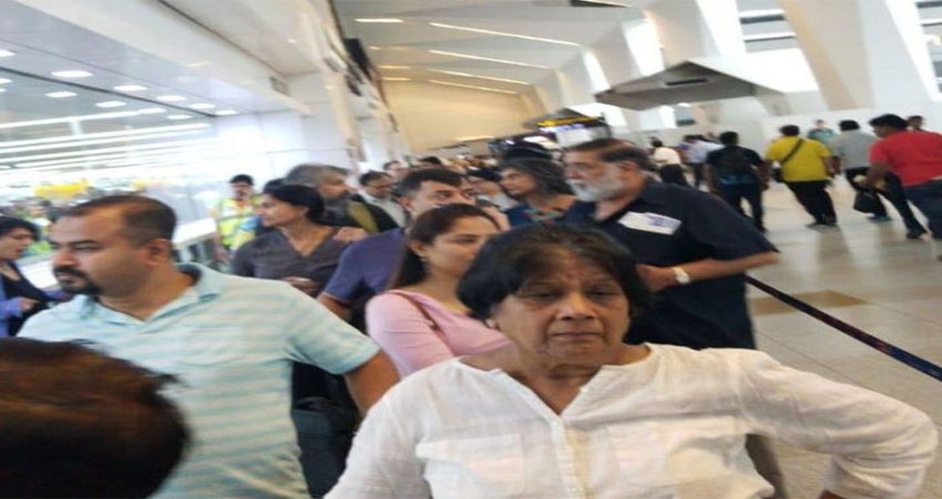 IGI एयरपोर्ट पर तीसरे दिन भी एयर इंडिया का सर्वर डाउन, घंटों देरी से उड़ी फ्लाइट्स