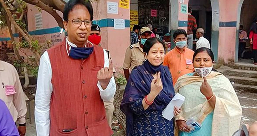बहुमत पर BJP प्रदेश अध्यक्ष ने जताई खुशी, कहा- अगले 5 साल CM रहेंगे नीतीश कुमार