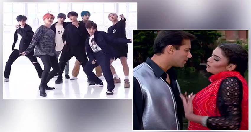 कोरियन बैंड BTS ने किया सलमान के गाने पर डांस, अनुराग कश्यप बोले- ये मस्त है