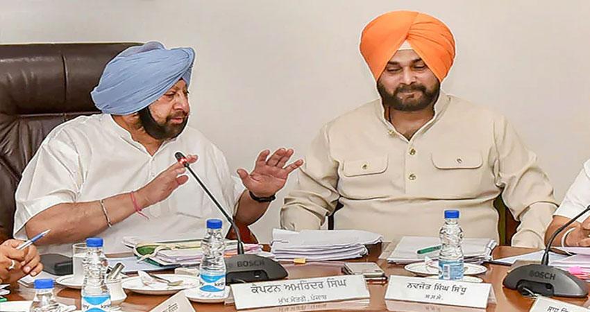 CM अमरिंदर सिंह ने नवजोत सिंह सिद्धू को लंच पर बुलाया, हो सकता है बड़ा समझौता