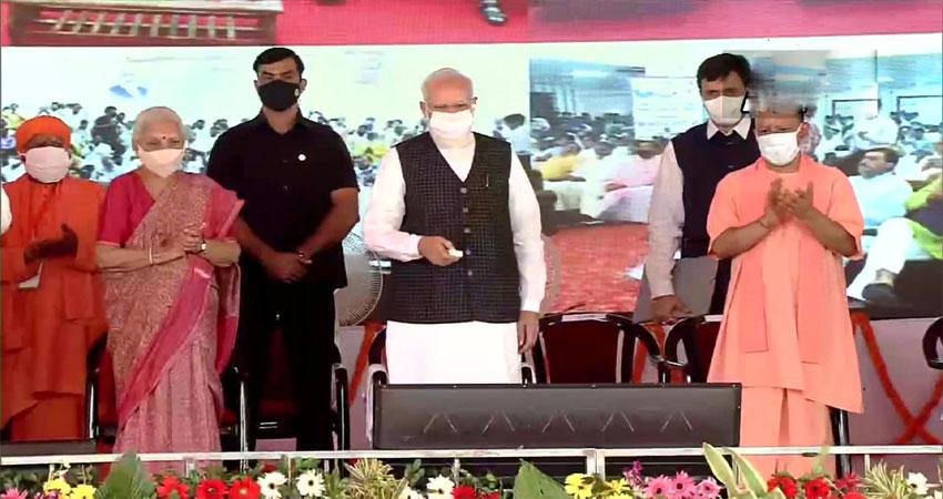 PM मोदी का सपा पर वार, कहा- 24 घंटे चलती रहती थी ''भ्रष्टाचार की साइकिल''