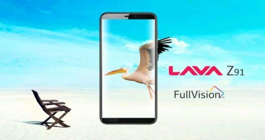 Lava Z91 लॉन्च, खास फीचर के साथ मिल रहा 2,000 रुपए का कैशबैक