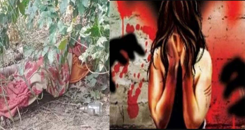 मथुरा के झाड़ियों में मिला महिला का अर्धनग्न शव, बलात्कार के बाद हत्या की आशंका