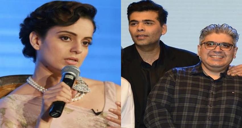 पत्रकारिता छोड़ने पर कंगना ने Rajeev Masand पर कसा तंज, कहा- करण जौहर के चमचे