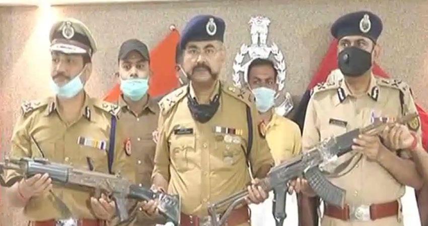 विकास दुबे का सहयोगी शशिकांत गिरफ्तार, पुलिस से लूटे गए हथियार बरामद