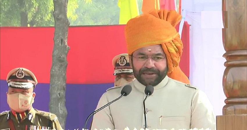 भारत विरोधी तत्वों का केंद्र बिंदु बना हुआ है दिल्ली- केंद्रीय गृह राज्यमंत्री जी किशन रेड्डी