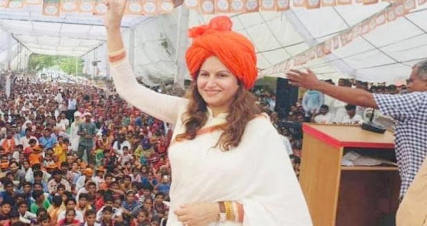हरियाणा चुनाव: सोनाली फोगाट ने कहा पाकिस्तानी हो क्या, भारत माता की जय बोलो