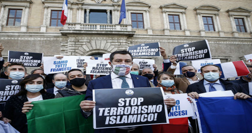 फ्रांसः हाथ में कुरान लिए हमलावर चिल्लाया ''अल्लाह अकबर'' और काट दी महिला की गर्दन