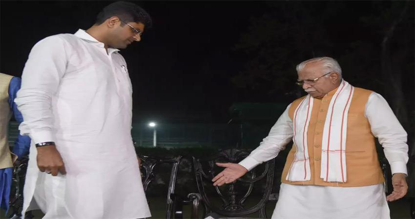 परस्पर 'विरोधी वायदे' 'भाजपा' और 'जजपा' कैसे पूरे करेंगे