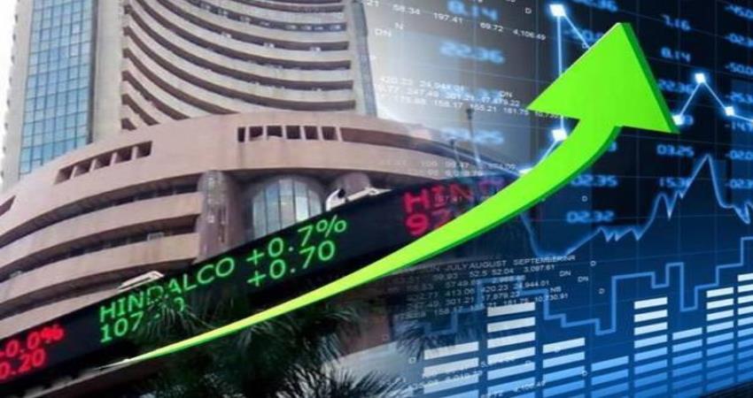 Sensex में सबसे अधिक 6% की तेजी, Nifty भी 13,550 अंक के पार