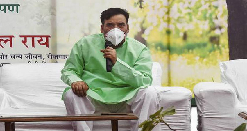 AAP नेता गोपाल राय को अस्पताल से मिली छुट्टी, पिछले हफ्ते हुआ था कोरोना