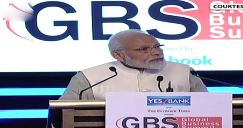 मोदी ने कहा पिछली सरकार में थी भ्रष्टाचार कीहोड़, अब उच्च आर्थिक वृद्धि और कम महंगाई पर जोर