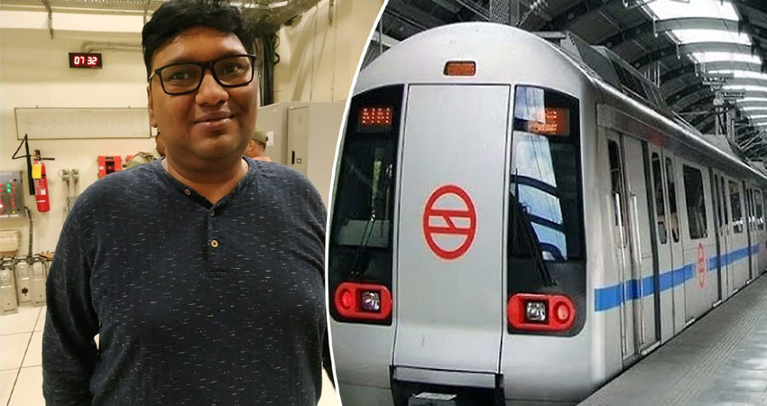 आनंद विहार मेट्रो स्टेशन पर देसी पिस्टल के साथ शख्स गिरफ्तार