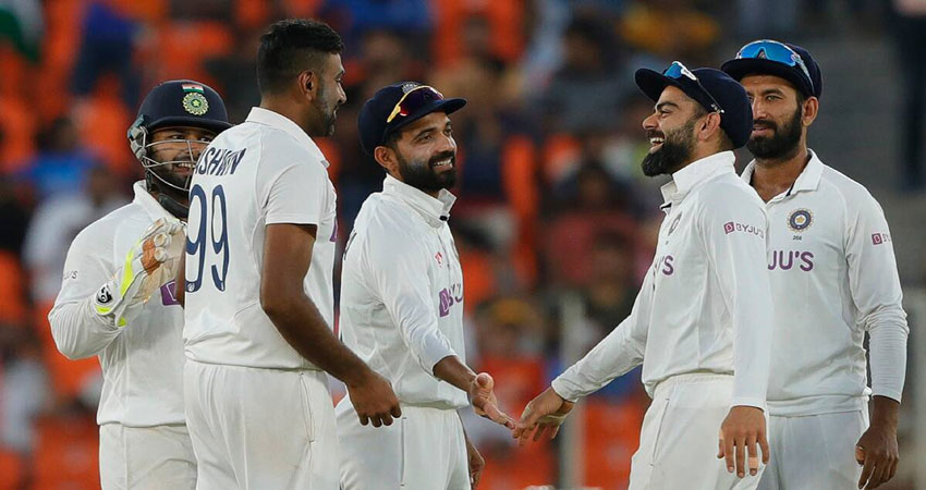 Ind vs Eng 4th Test:फिरकी के जाल में फंसी इंग्लैंड टीम 205 रन पर आउट