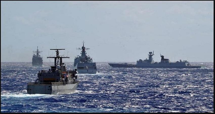 मालाबार में युद्धाभ्यास के लिए तैयार हुए क्वॉड देश, चीन को संदेश देने के लिए ऑट्रेलिया भी आया साथ...