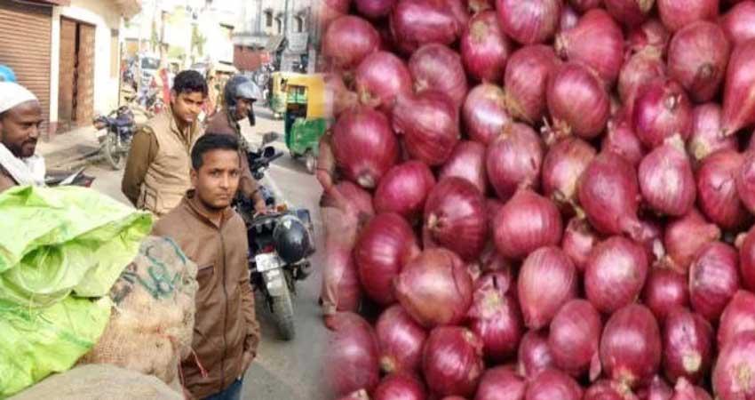 गोरखपुर: प्याज पर लूटेरों का डाका,मोटरसाइकिल सवारों ने लूटा 50 किलो प्याज