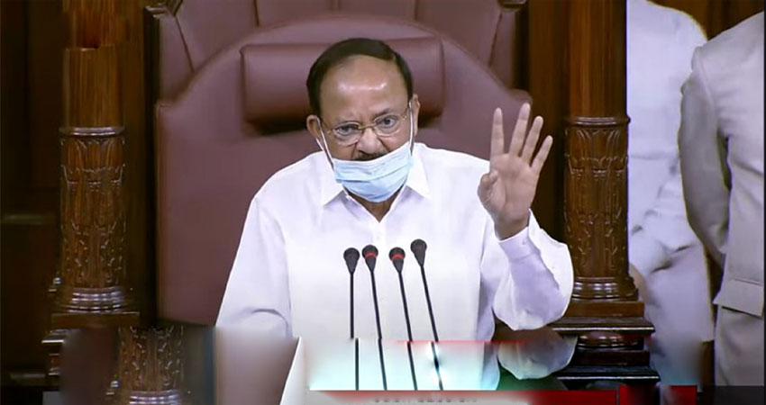 संसद में पर्चा फाड़ने वाले सांसद सस्पेंड, वैष्णव ने कहा- हिंसा TMC की संस्कृति
