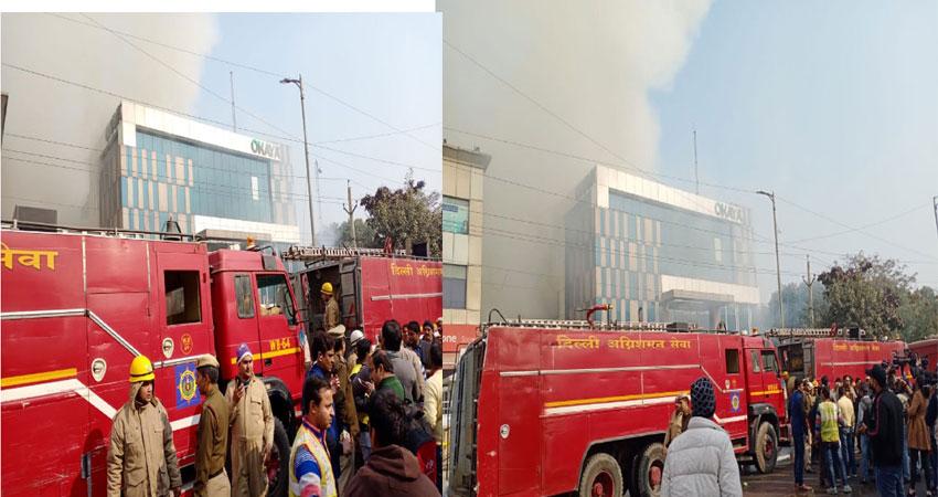 दिल्ली: पीरागढ़ी फैक्ट्री में भीषण आग, दमकल कर्मी अमित बालियान की मौत