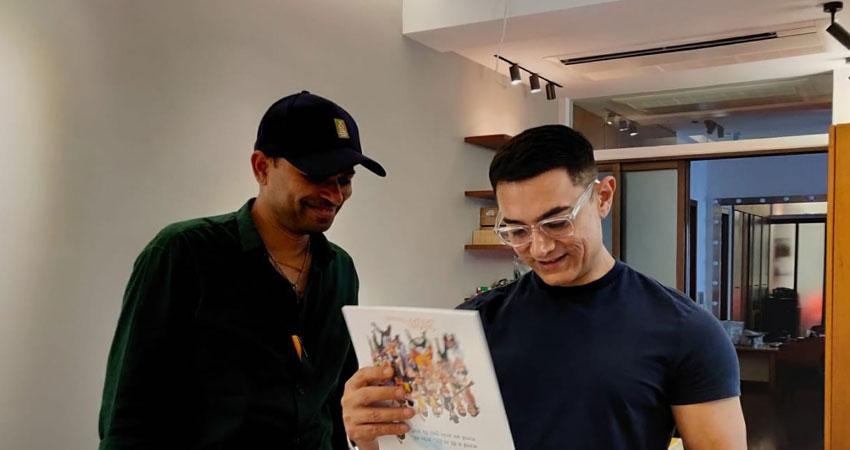 ''लगान'' से लेकर ''लाल सिंह चड्ढा'' तक, आमिर खान के यादगार किरदारों को इस तरह किया गया कैद