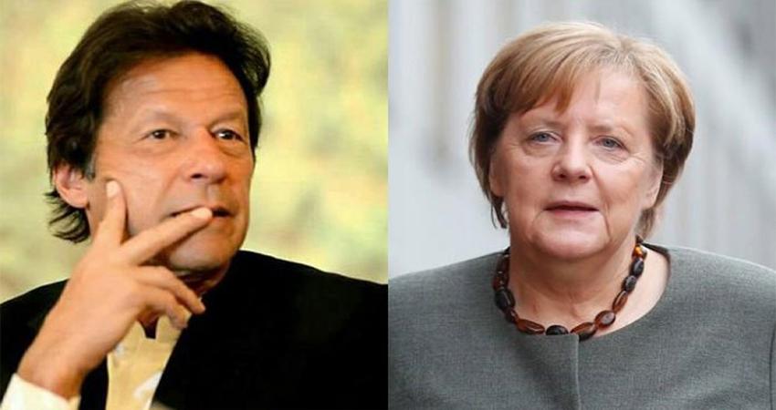 कश्मीर मामले को लेकर जर्मनी की शरण में पाकिस्तान, फोन पर मांगी मदद