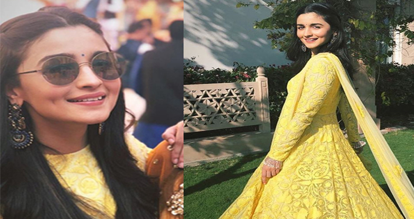 दोस्त की शादी में आलीया ने की जमकर मस्ती, वाइरल हो रही ये तस्वीरें और Video