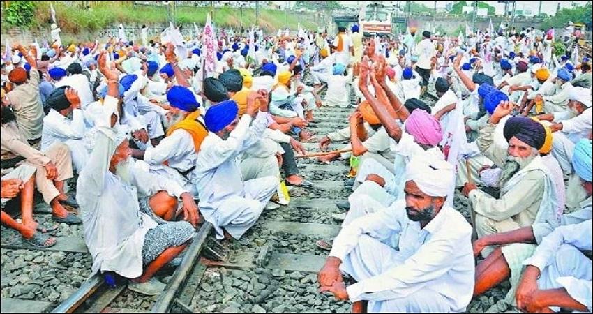 किसानों के आंदोलन को हुआ एक महीना, अब तक रेलवे को हुआ 2400 करोड़ का नुकसान