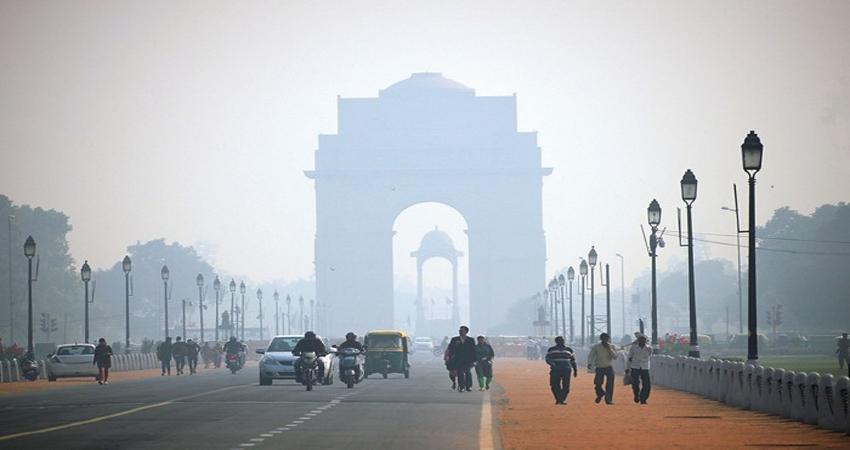 दिल्ली को ठंड से मिली राहत, लेकिन बेहद खराब स्थिति में हवा