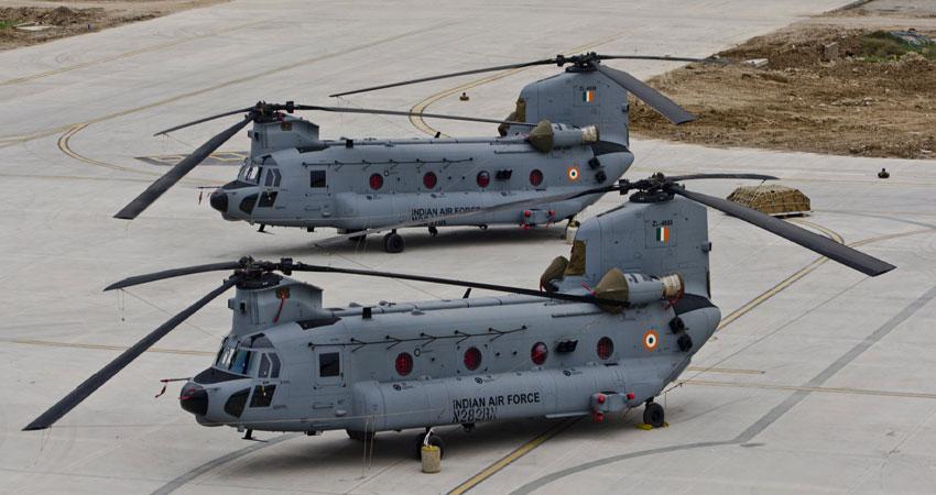 उत्तराखंड में चीन के मुकाबले के लिए वायुसेना ने कमर कसी