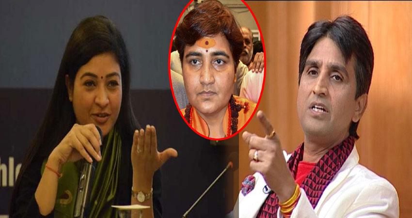 साध्वी प्रज्ञा और BJP पर बरसे विश्वास-अलका, बोले-आतंक के आरोप में पुलिस रबड़ी नहीं खिलाती