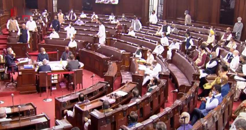 महंगाई के मुद्दे पर विपक्ष के हंगामे के कारण संसद की कार्यवाही बाधित