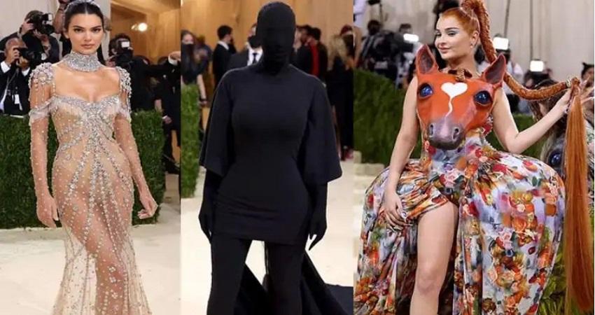 Met Gala 2021 में किसी ने पहने ट्रांसपेरेंट कपड़े तो कोई दिखा सबसे घटिया ड्रेस में