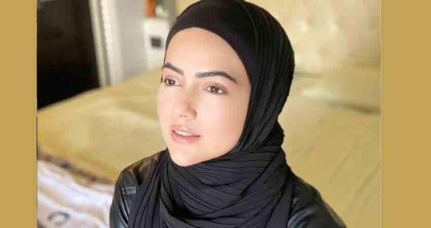 सना खान ने शेयर की खूबसूरत फोटो, पति अनस को दिल से कहा ''शुक्रिया''