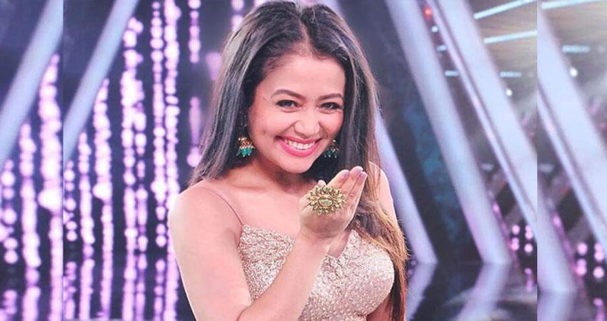 शो के दौरान दमकल कर्मी पर मेहरबान हुई नेहा कक्कड़, ''इंडियन आइडल''के सेट पर कही ये बात