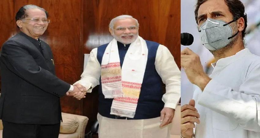असम के पूर्व CM तरुण गोगोई के निधन पर राहुल गांधी ने जताया दुख, बोले- मेरे गुरु थे
