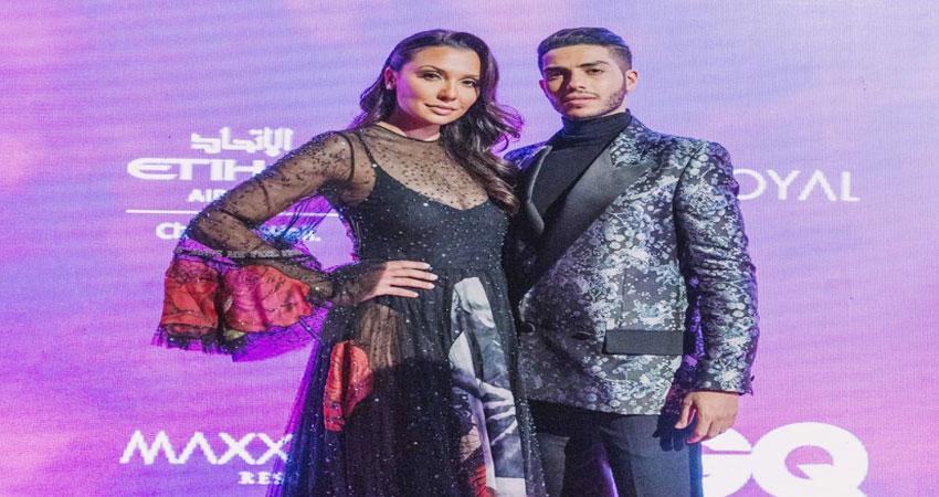 एमिली शाह को अबू धाबी में जीक्यू अवॉर्ड्स के दौरान हॉलीवुड एक्टर मीणा मसूद के साथ स्पॉट किया गया