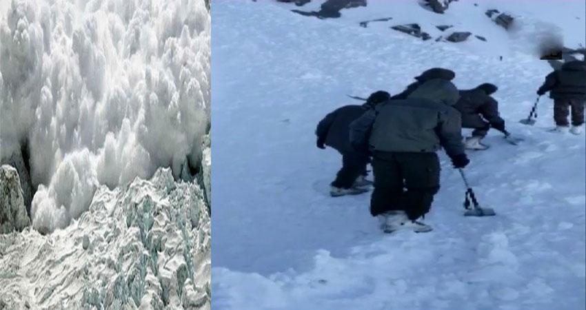 बर्फीले तूफान में 10 पर्यटक दबे, माइनस 15 डिग्री में रेस्क्यू जारी, 3 शव निकाले गए