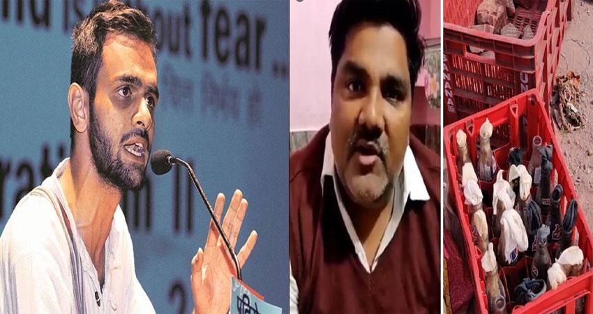 दिल्ली दंगा: क्राइम ब्रांच ने उमर खालिद से 6 घंटे की पूछताछ, ताहिर से संबंध की जांच